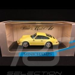 Porsche 911 type 964 Carrera 2 1992 yellow 1/43 Minichamps MIN062120