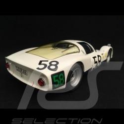Porsche 906 K white winner 24h Le Mans 1966 n° 58 1/18 Minichamps 100666158