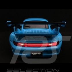 Porsche 911 type 993 RWB Чайхона N⁰1 bleu Riviera blue blau 1/18 Autoart 78152