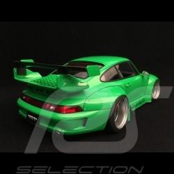 Porsche 911 typ 993 RWB Rough Rythm grün 1/18 Autoart 78150