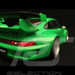 Porsche 911 type 993 RWB Rough Rythm green 1/18 Autoart 78151