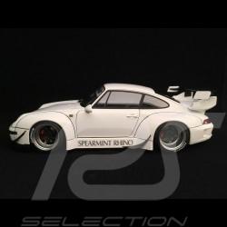 Porsche 911 typ 993 RWB Spearmint Rhino weiß 1/18 Autoart 78150