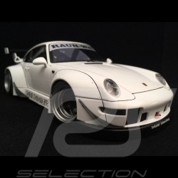 Porsche 911 type 993 RWB Spearmint Rhino blanc 1/18 Autoart 78150