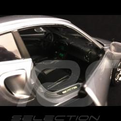 Porsche 911 Turbo type 996 2000 silver grey 1/18 Burago 12030