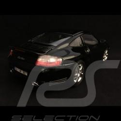 Porsche 911 Turbo type 996 2000 noire black schwarz  1/18 Burago 12030