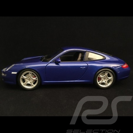 Porsche 997 Carrera S 2008 blau 1/18 Maisto 31692