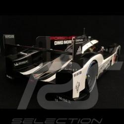 Porsche 919 Hybrid vainqueur winner sieger 24h du mans 2016 n° 2 avec coupe 1/18 Spark 18LM16