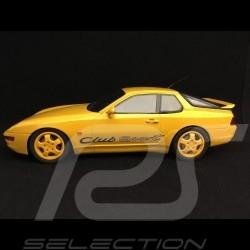 Porsche 968 Club Sport 1993 jaune yellow gelb 1/18 GT Spirit GT129