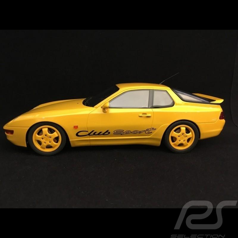 Porsche 968 Club Sport 1993 gelb 1/18 GT Spirit GT129