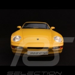 Porsche 968 Club Sport 1993 yellow 1/18 GT Spirit GT129
