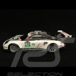 Porsche 991 GT3 RSR 24h du Mans 2016 n° 92 Porsche Motorsport 1/43 Spark S5135