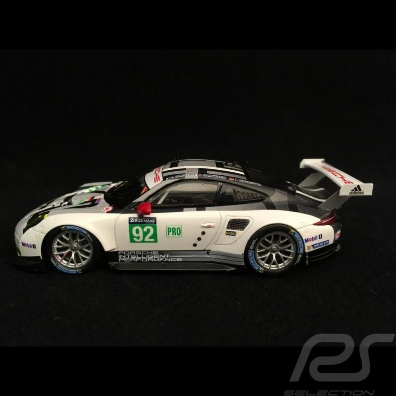 Porsche 911 type 991 GT3 RSR 24h du Mans 2016 n° 92 Porsche Motorsport 1/43 Spark S5135