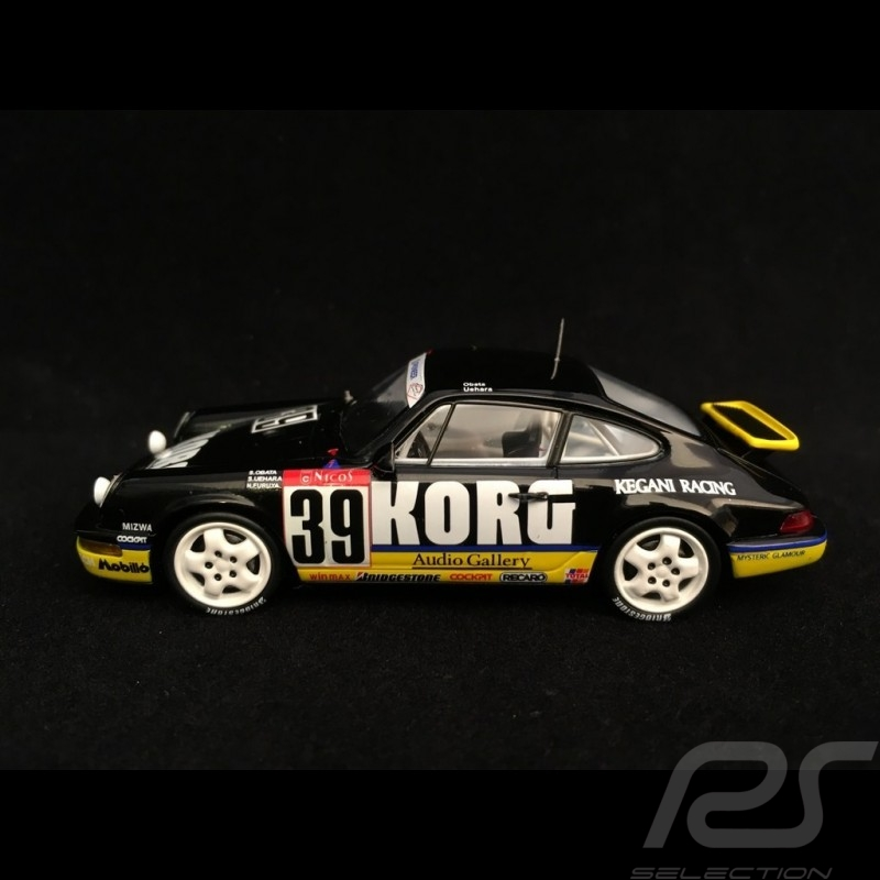 Porsche 911 type 964 Carrera RS 24h Tokachi 1994 n° 39 Korg 1/43 Spark SJ013