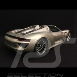 Porsche 918 Spyder 2016 metallic grau open-Top Version 1/18 Welly 18051 GF