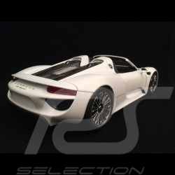Porsche 918 Spyder 2016 weiß open-Top Version 1/18 Welly 18051 WO