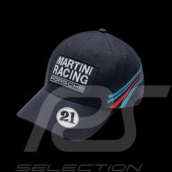 Casquette Porsche Martini Racing collection n° 21 bleu foncé Porsche Design WAP5500010J