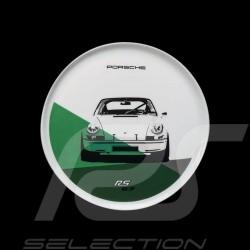 Set of 2 plates Porsche 911 Carrera RS 2.7 N° 2/2 blue green Porsche Design WAP0509580J