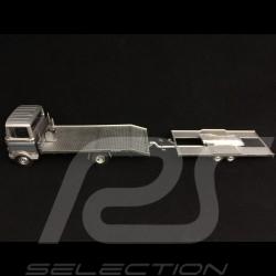 Mercedes Benz LP608 wrecker with trailer Porsche Martini racing silver grey 1/43 Premium ClassiXXs PCL18278