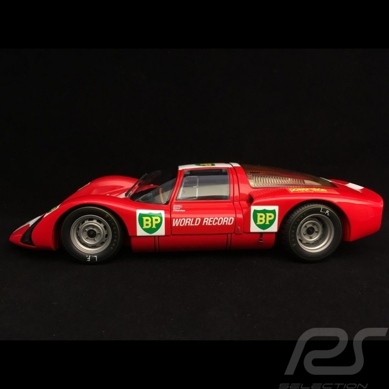 Porsche 906 E Monza 1967 BP World Record Runs 1/18 Minichamps 100676100