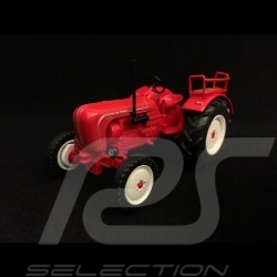 Porsche Diesel Tracteur Master 4 cylindres 4 cylinders 4 Zylinder N419 1962 rouge red rot 1/43 Atlas 750