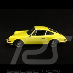 Porsche 911 S 2.4 1973 jaune citron lemon yellow zitronengelb 1/43 Norev 750056