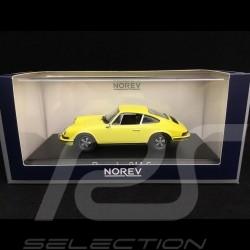 Porsche 911 S 2.4 1973 lemon yellow 1/43 Norev 750056