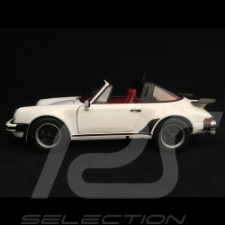 Porsche 911 3.3 Turbo Targa 1977 blanche white weiß toit amovible removable top abnehmbares Dach 1/18 Norev 187660