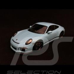 Porsche 911 R type 991 2016 Gulf blue black side bands 1/43 Minichamps 410066225