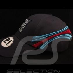 Casquette Cap Porsche Martini Racing collection n° 21 bleu foncé Porsche WAP5500010J