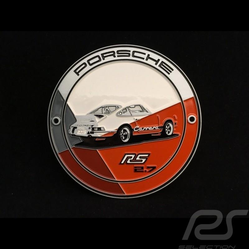 Grille badge Porsche 911 2.7 Carrera RS orange WAP0500500J