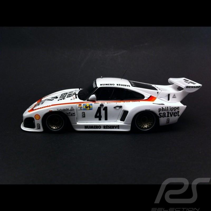 Porsche 935 K3 Le Mans 1979 n° 41 Kremer 1/43 Spark 43LM1979