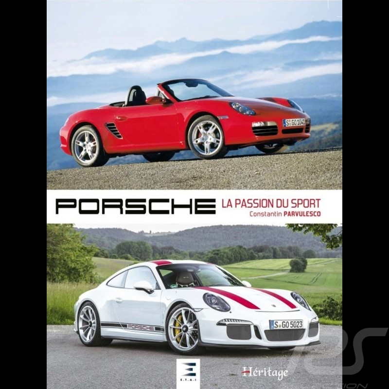 Livre Book Buch Porsche : la passion du sport - Constantin Parvulesco