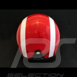 Helmet Jo Siffert 1968 replica n° 6 / 100 red white stripes swiss flag with visor