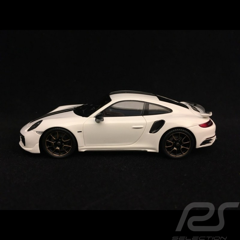 Porsche 911 Turbo S Exclusive Series 991 2017 blanc Carrara 1/43 Spark WAP0209060H white weiß