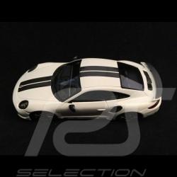 Porsche 911 Turbo S Exclusive Series 991 2017 Carrara white 1/43 Spark WAP0209060H