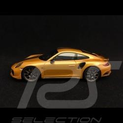 Porsche 911 Turbo S Exclusive Series 991 2017  1/43 Spark WAP0209070H or jaune yellow gold Gelbgold