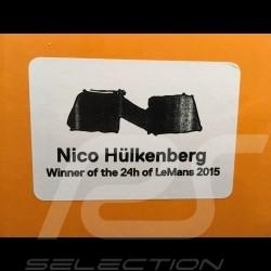 Casque pilote Nico Hülkenberg Porsche 919 Hybrid Vainqueur Le Mans 2015 1/2 Schuberth 9085000230 winner sieger