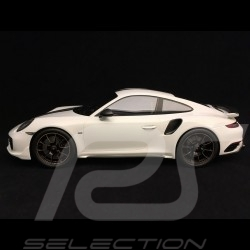 Porsche 911 Turbo S Exclusive Series 991 2017 weiß Carrara 1/18 Spark WAP0219030H