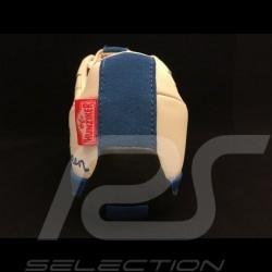 Steve McQueen Schuhe - Porsche 911 Klassische Geist - Grand Prix weiß und blau - Herren