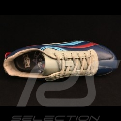Chaussure esprit Porsche 917 LH Martini n° 21 Le Mans 1971 - homme shoes - man Schuhe - Herren