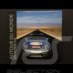 """Book """" Autour du monde en Porsche entre père et fils """" Philippe Delaporte"""