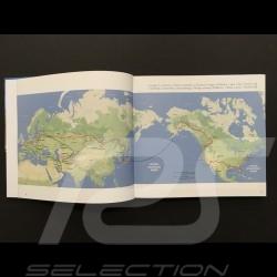 """Livre """" Autour du monde en Porsche entre père et fils """" Philippe Delaporte Around the world in Porsche book buch"""