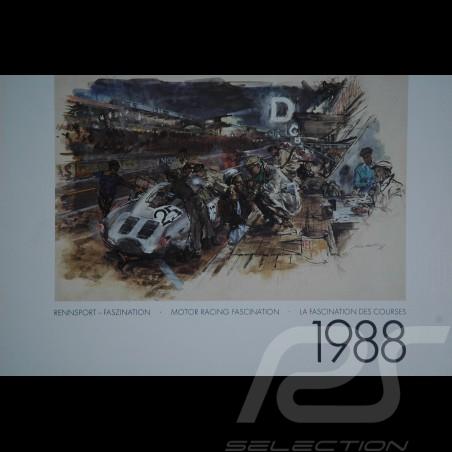 Calendrier Porsche 1988