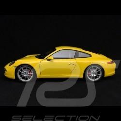 Porsche 911 Carrera S 991 2015 yellow 1/18 Welly MAP02109415