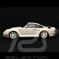 Porsche 959 1987 blanche 1/18 Minichamps 155066202 white weiß