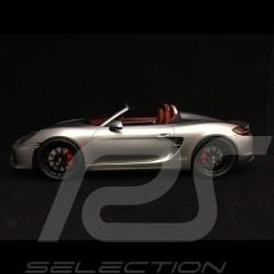 Vorbestellung Porsche Boxster Spyder 981 silber 1/18 Spark WAX02100021