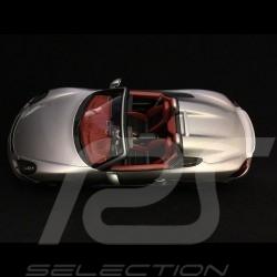 Porsche Boxster Spyder 981 argent 1/18 Spark WAX02100021 silver silber