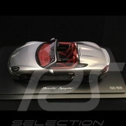 Porsche Boxster Spyder 981 silber 1/18 Spark WAX02100021