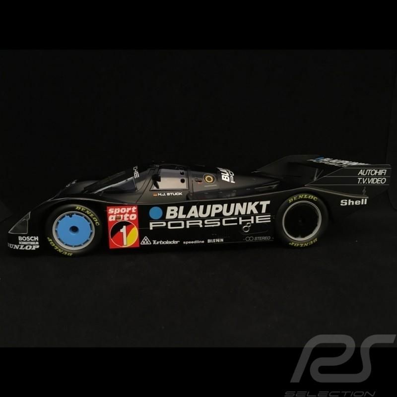 Porsche 962 C n° 1 Blaupunkt Winner ADAC Nürburgring 1986 1/18 Norev 187411
