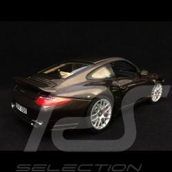 Porsche 911 Turbo 997 2010 marron Macadamia 1/18 Norev 187622